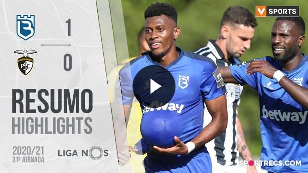 Highlights: Belenenses SAD 1-0 Portimonense (Liga 20/21 #31)
