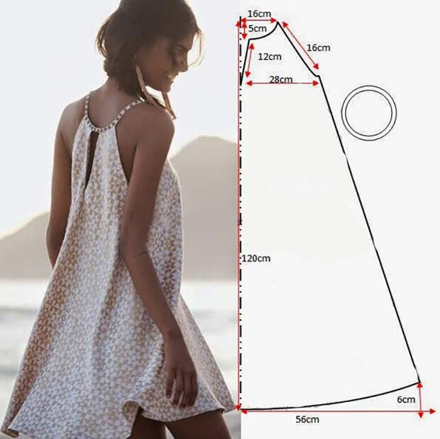 Знакомый портной поделился простыми выкройками стильных платьев! Получится даже у новичков
