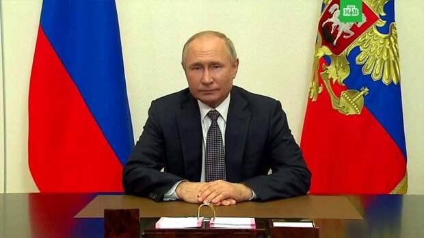 Путин заявил о росте турбулентности в геополитике