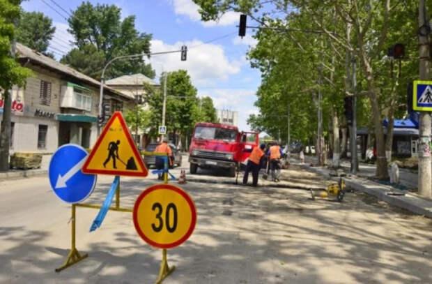 Хорошие новости: ремонтные работы на ул. Крянгэ могут завершиться раньше срока