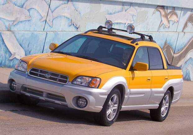 Subaru Baja авто, автодизайн, внедорожник, вседорожник, джип, дизайн, япония, японский автопром