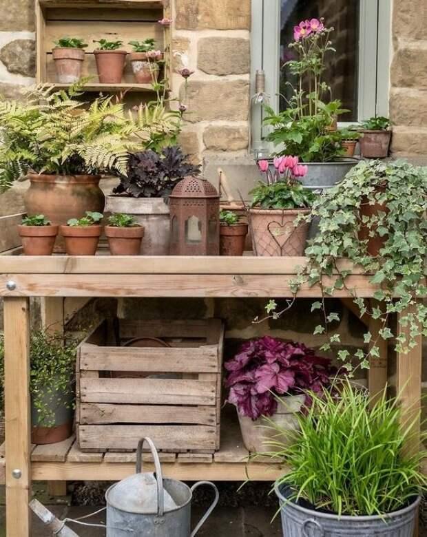 Восстановленный 200-летний дом и маленький цветущий сад английского фотографа из Северного Йоркшира
