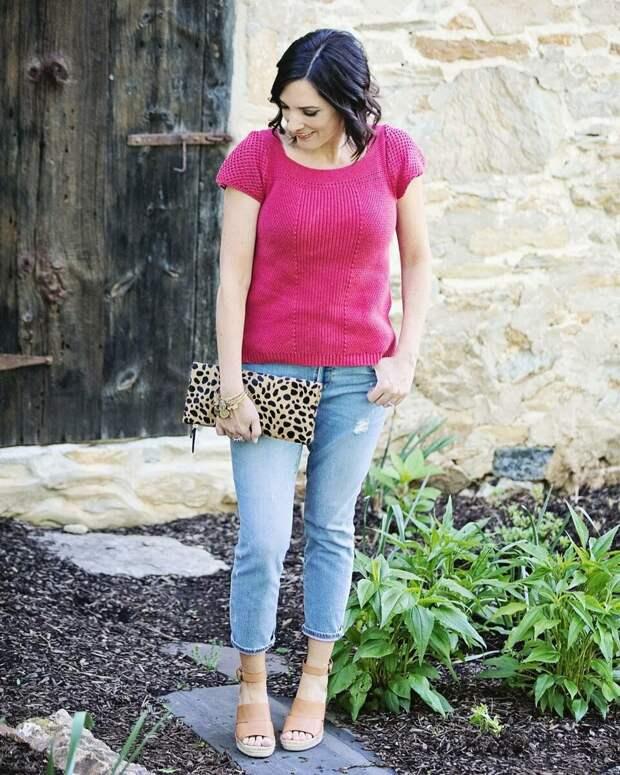 Укороченные джинсы : лучшие фасоны для любой фигуры