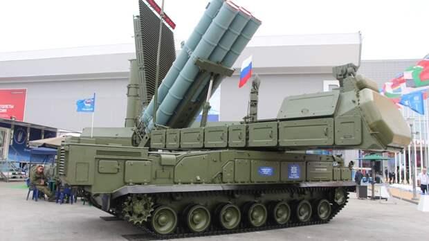Комплексы «Бук-М3» успешно отразили удар условного противника в Курской области