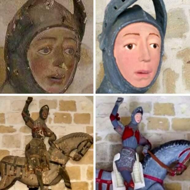 Пушистый Иисус и степная баба: 9 самых стремных реставраций предметов искусства