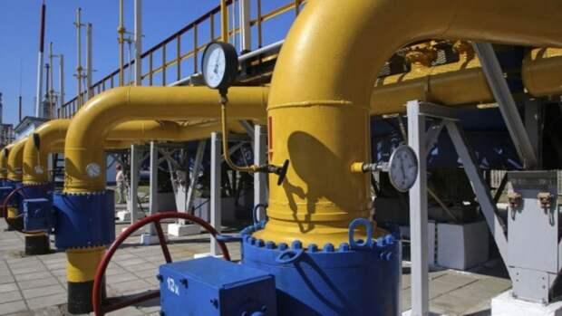 На40% сократился транзит российского газа через Украину сначала 2020 года