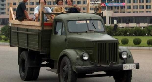 Какие советские грузовики производили в Северной Корее?