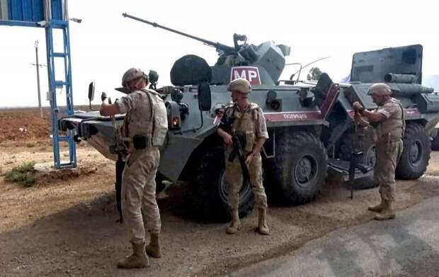 Российские военные ликвидировали боевиков, напавших на их пост на севере Сирии