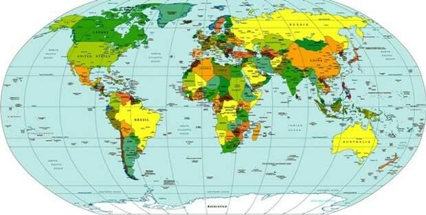 Политичкая карта Мира