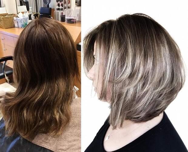 модные стрижки и покраска волос