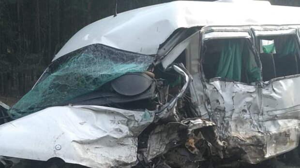 Пять человек погибли вДТП смикроавтобусом вКурганской области