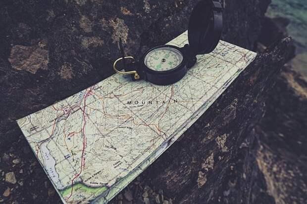 Компас, Исследовать, Навигация, Разведка