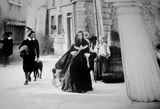Мишель Мерсье. Редкие фото со съемок Анжелики.