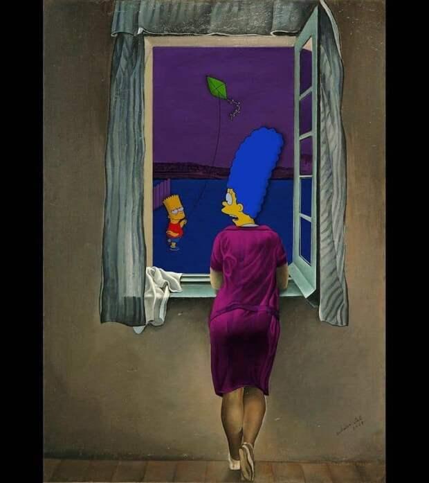 Симпсоны изобразительного искусства (11).jpeg