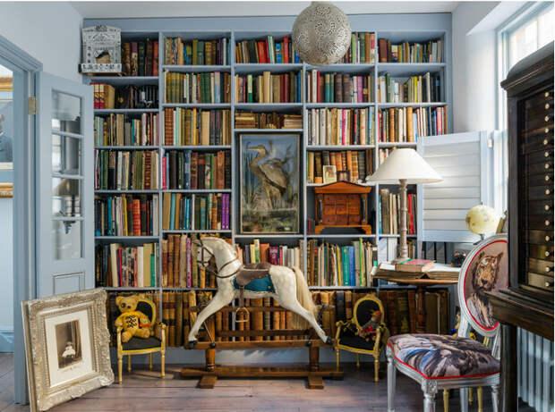 Здесь живут книги: как красиво оформить домашнюю библиотеку