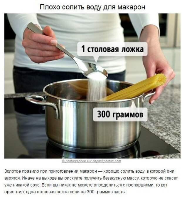 Кулинарные ошибки, которые портят вкус вашей еды