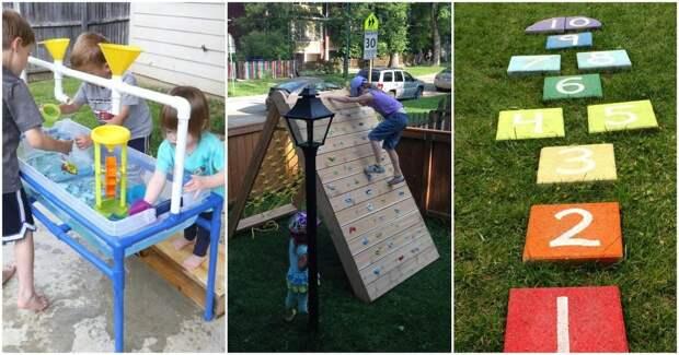 Отличные идеи для детей на свежем воздухе, которые легко сделать самим