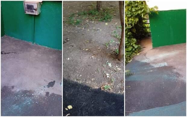 Свалку у дома на Дыбенко убрали — «Жилищник»