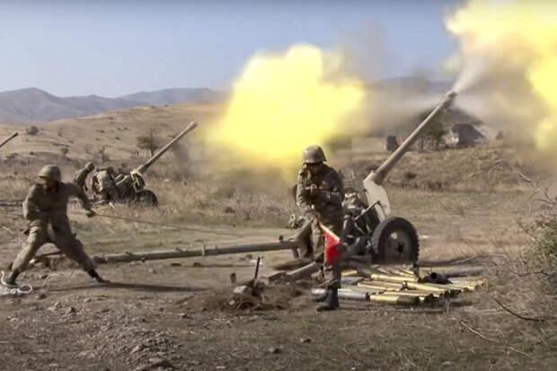 Армия Карабаха уничтожает военные инфраструктуры Азербайджана