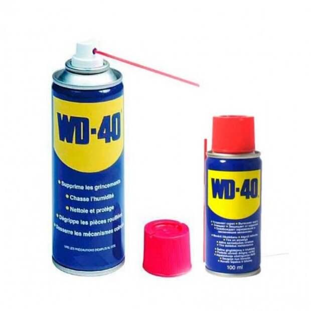 WD-40 в быту 0