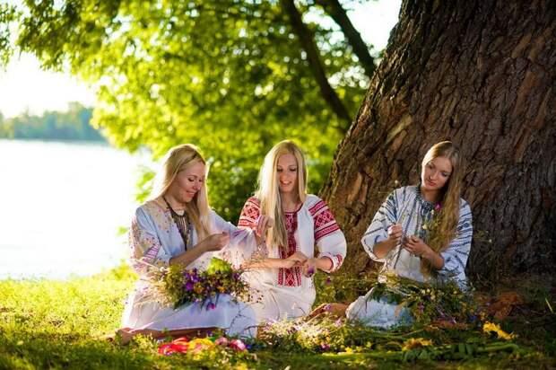 Очаровательные славянки
