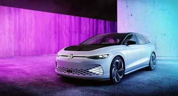 Дополненная реальность и комфорт большого кроссовера. Volkswagen рассказал, когда выпустит новый универсал ID.Space Vizzion