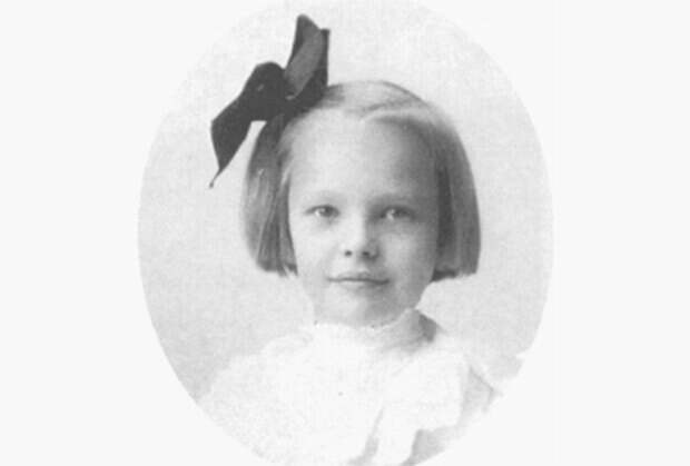 Амелия Эрхарт в детстве Фото: Wikipedia