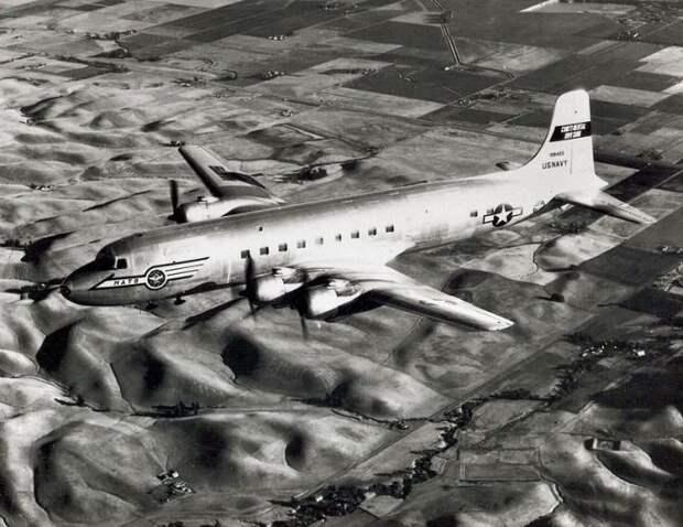 Как американский С-118 заставили сесть на советском аэродроме.