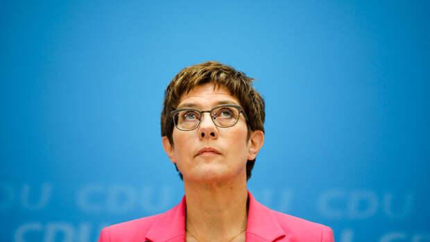 """Минобороны Германии усомнилось в необходимости """"Северного потока — 2"""""""