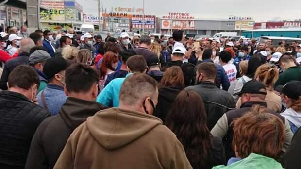 Предприниматели закрытых аксайских рынков решили несоглашаться наусловия властей