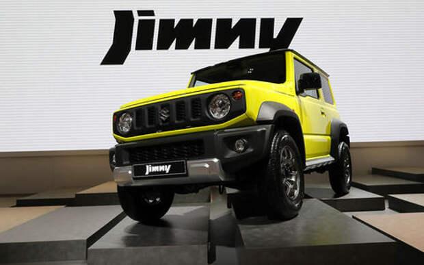 Suzuki объяснила отличие комплектаций российских Jimny