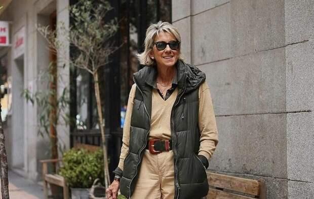 Одежда в удобном и практичном стиле кэжуал для женщин после 60 лет. Один из удобных и универсальных стилей для современных дам