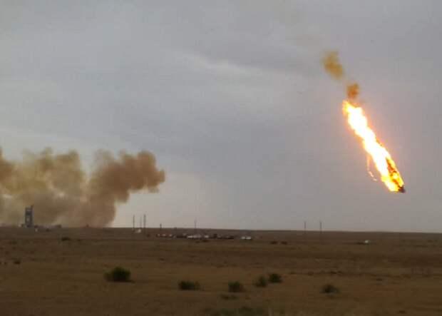 Казахстан отказался от соглашения с Россией по участку для падения частей ракет