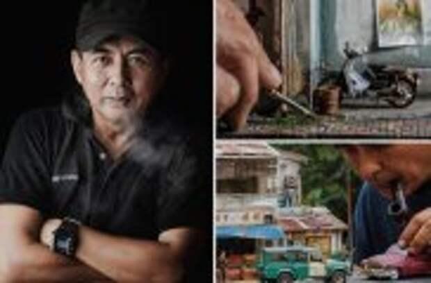 Блог Юрия Хворостова: Реальные истории из жизни в 3d миниатюрах и точных подробностях от фотографа из Куала-Лумпур, которые покорили мир