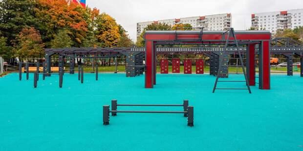 Площадка для воркаута в стиле «Русский ниндзя» появится в парке «Яуза»