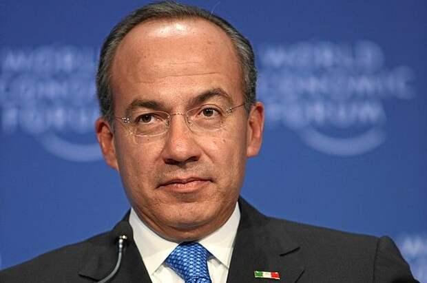 Экс-президент Мексики Фелипе Кальдерон заразился COVID-19