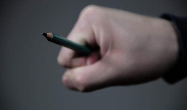 В Екатеринбурге родители жалуются на орудующего острым карандашом третьеклассника
