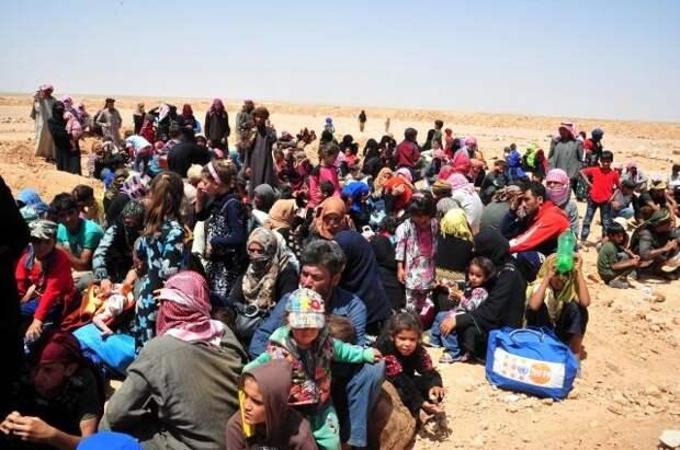 Россия и Сирия обвинили США в запугивании сирийских беженцев