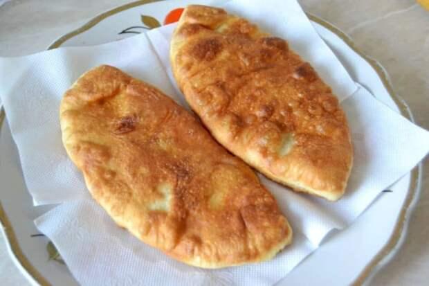 Тонкие пирожки с картошкой Крестьянские. Пирожки просто тают во рту