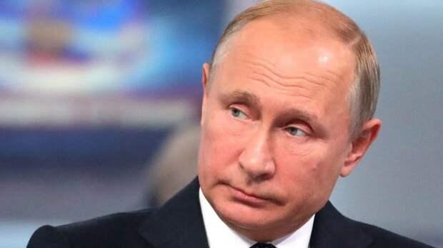 Путин ответил на вопрос о «банде патриотов» из «Единой России» в ходе  прямой линии