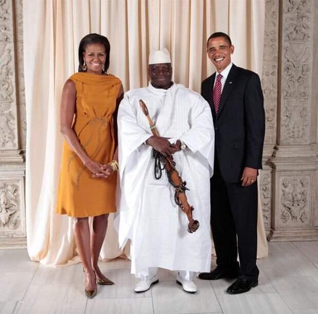 Президент Гамбии отказался признавать поражение на выборах и отменил их