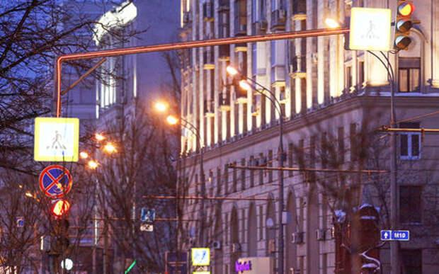 Москва обрастает «умными» светофорами