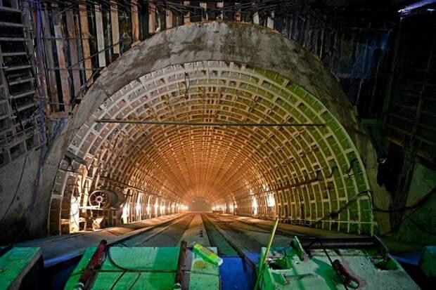 Самый длинный эскалатор в метро установят на станции БКЛ «Марьина Роща»