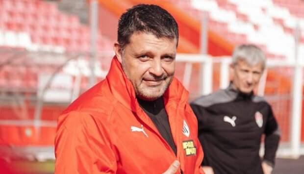 «Химки» будут играть с «Уфой» без главного тренера Черевченко
