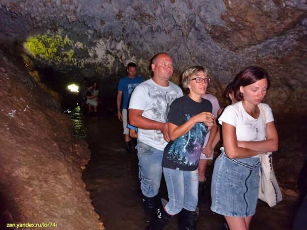 Восточная Абхазия. Пещера Абрскила. Первая часть пути