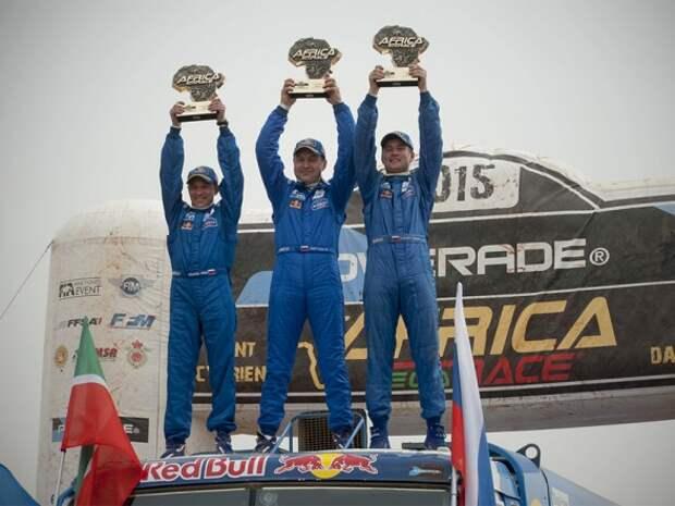 Чемпионы Africa Eco Race вернулись домой