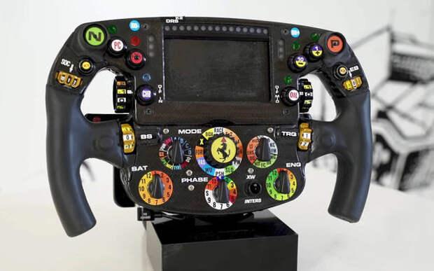 Рулевое колесо Формулы-1: для чего все эти кнопки?