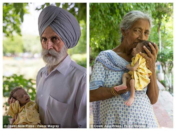 """""""Это тяжелее, чем я думала"""": жительница Индии стала матерью в 72 года"""