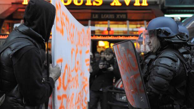 Парижане и лондонцы взбунтовались против Израиля. Полиция отреагировала безжалостно.