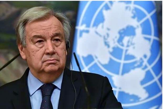 Генсек ООН предложил способ решения палестино-израильского конфликта